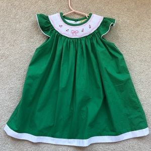 TBBC sandy smocked dress